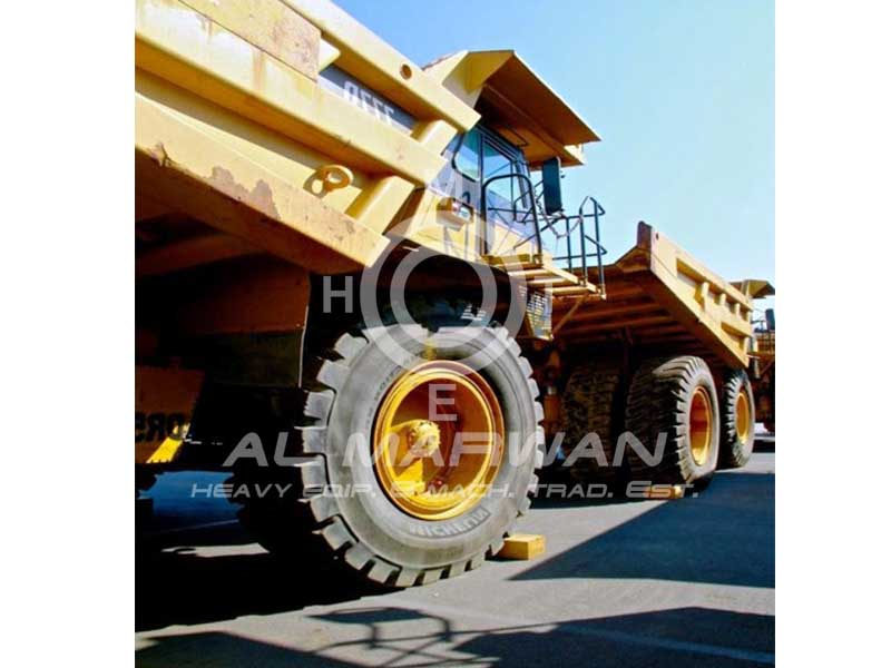 CAT Rigid Dump Truck  - 777D  2002