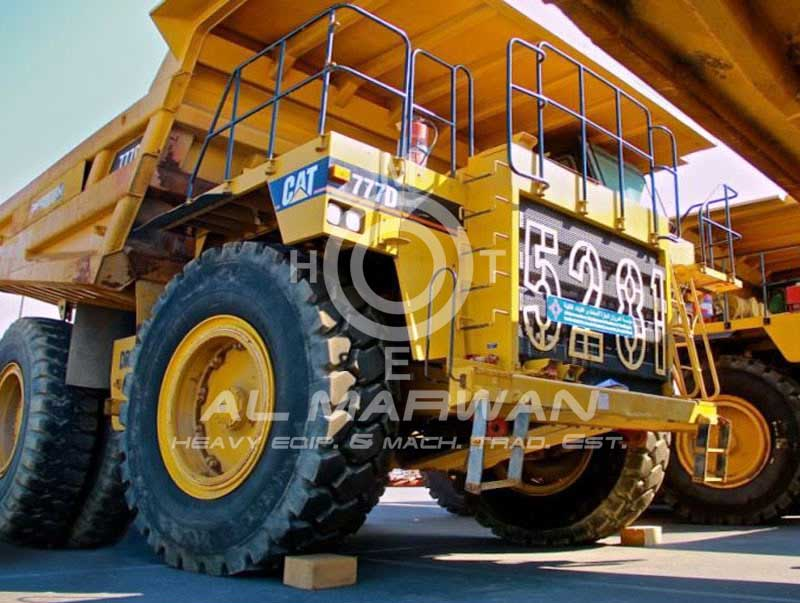 CAT  Rigid Dump Truck - 777D  2006