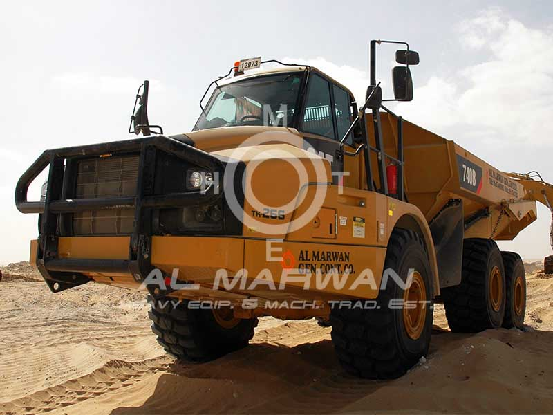 Buy used CAT  740B Truck (Dump Truck) 2011 model for sale