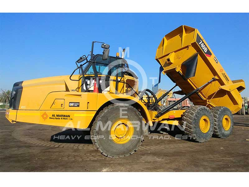 Buy used CAT  740B Truck (Dump Truck) 2013 model for sale