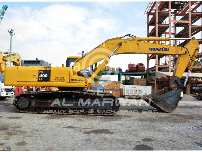 Buy best condition used KOMATSU  PC400LC-7 Crawler Excavator