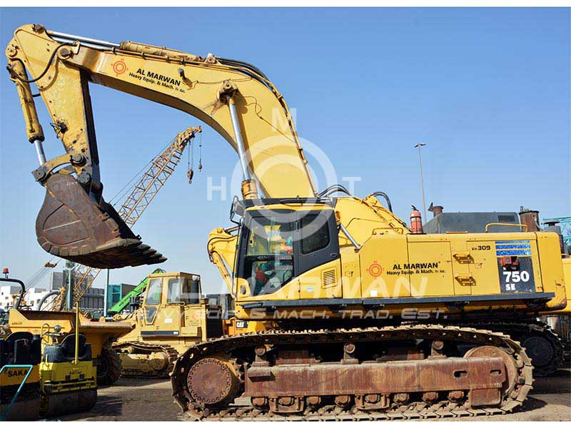 Buy best condition used KOMATSU  PC750-7 Crawler Excavator