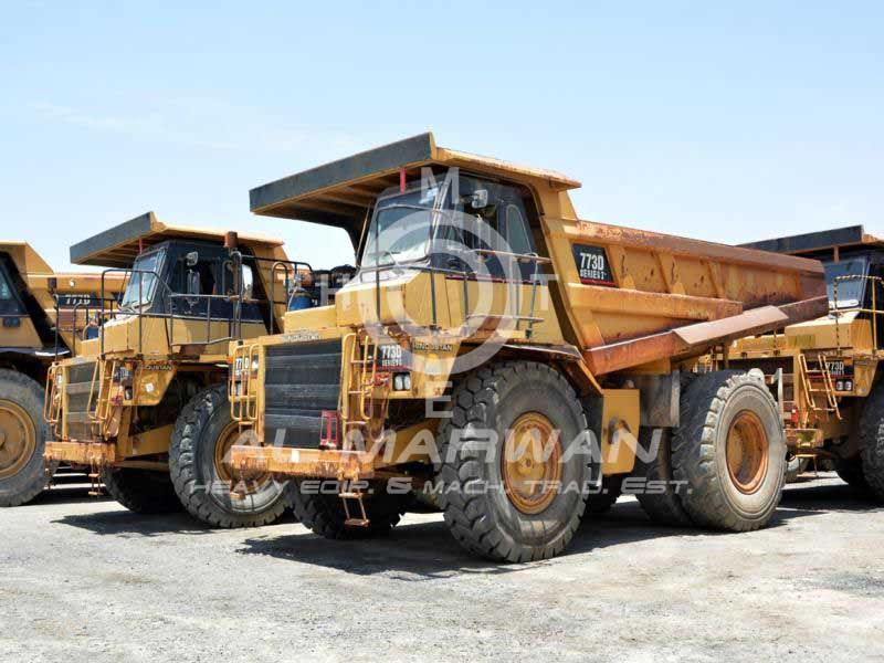 CAT  Rigid Dump Truck - 773D  2005