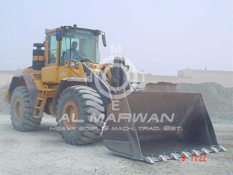 VOLVO Wheel Loader - L120E 2002